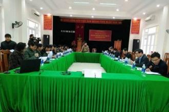 Ban quản lý Vườn Quốc gia Phong Nha - Kẻ Bàng: Hội thảo bàn biện pháp ngăn chặn xâm hại và diệt trừ loài Bìm Bôi hoa vàng